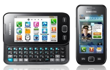 samsung wave 533. Samsung Wave 525 und 533